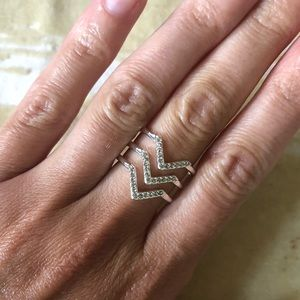Stella & Dot Chevron Ring